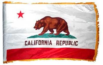 4'x6' Nylon Indoor California Flag