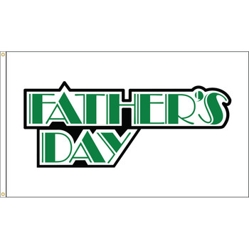 Farther's Day 3ftx5ft Nylon Flag 3x5 Made in USA 3'x5'