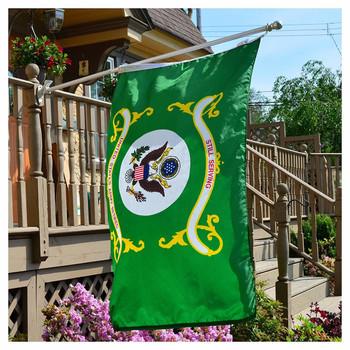Perma-Nyl 3'x5' Nylon Army Retired Flag