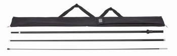 Deluxe Blade and Teardrop Medium Pole 12'
