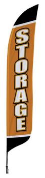 Storage Blade Flag 2ft x 11ft Nylon