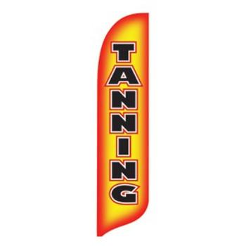 Tanning Blade Flag 2ft x 11ft Nylon