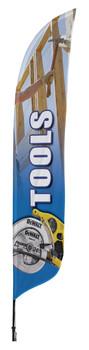 Tools Blade Flag 2ft x 11ft Nylon