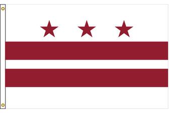 District of Columbia Washington DC 8'x12' Nylon State Flag 8ftx12ft