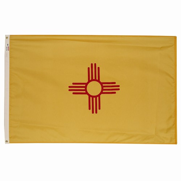 New Mexico State Flag 3x5 Feet Spectramax Nylon by Valley Forge Flag 35232310