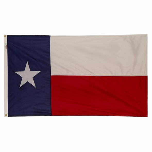 Texas State Flag 3x5 Feet Spectramax Nylon by Valley Forge Flag 35222430