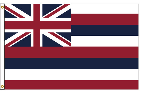 Hawaii 5'x8' Nylon State Flag 5ftx8ft