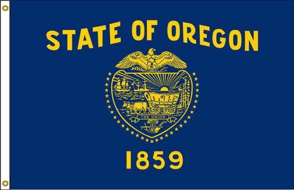 Oregon 5'x8' Nylon State Flag 5ftx8ft