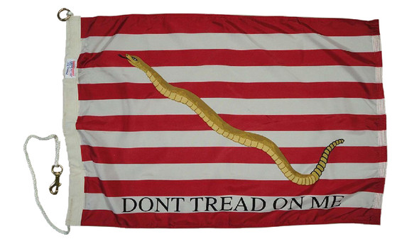 Navy Don't Tread On Me Size 8