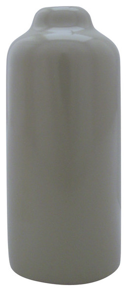 "Gray 3-1/2"" Inch Vinyl Snap Cover"