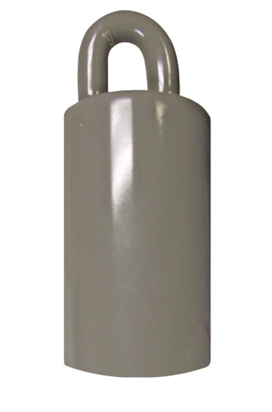 Flagpole Counterweight 3.5 LBS Silver 3-1/2 Inch (360316-1)
