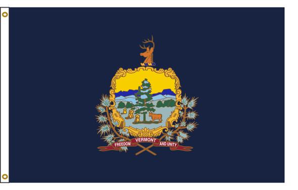 Vermont 8'x12' Nylon State Flag 8ftx12ft