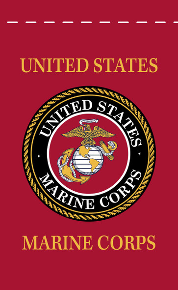 US Marine Corps 18inx12in Nylon Garden Flag