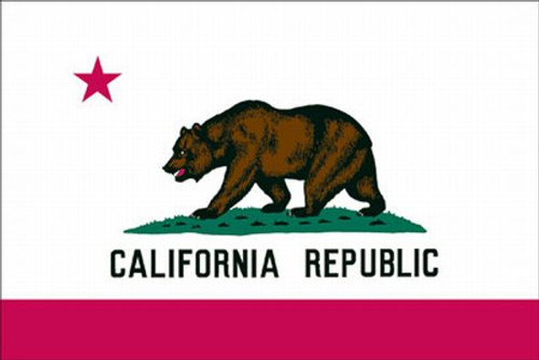4'x6' Polyester California Flag