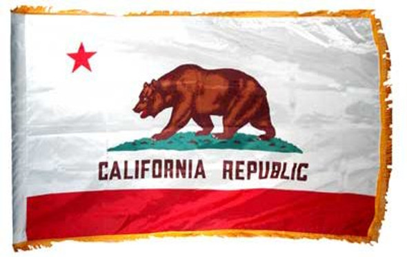 3'x5' Nylon Indoor California Flag