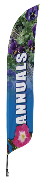 Annuals Blade Flag 2ft x 11ft Nylon