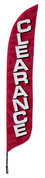 Clearance Blade Flag 2ft x 11ft Nylon