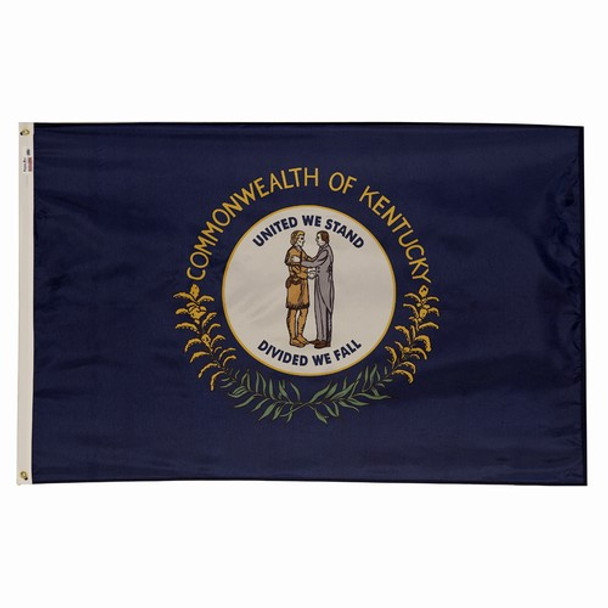 Kentucky State Flag 3x5 Feet Spectramax Nylon by Valley Forge Flag 35232170