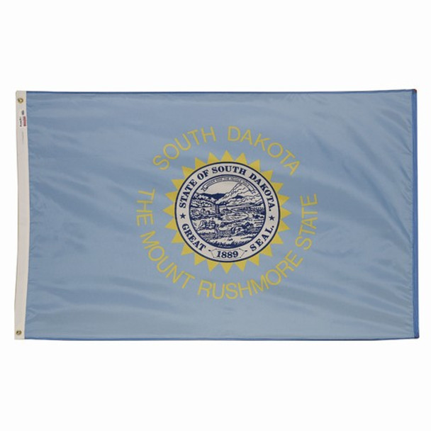 South Dakota State Flag 3x5 Feet Spectramax Nylon by Valley Forge Flag 35232410