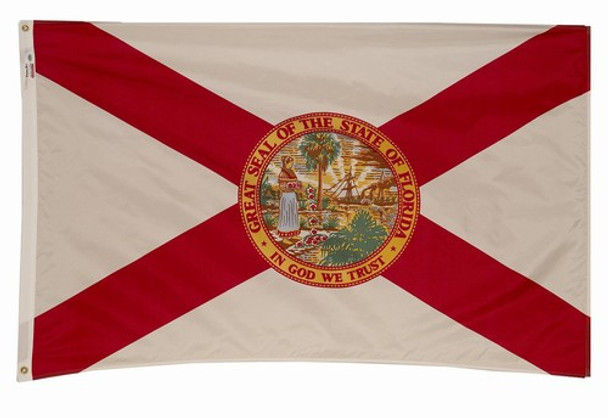 Florida State Flag 2x3 Feet Spectramax Nylon by Valley Forge Flag 23232090