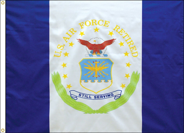 Retired Air Force 3x4 Feet Flag Endura-Poly 070188