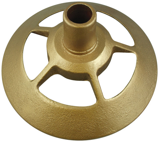 Gold Indoor Flagpole Floor Stand Federal For Various Flagpole Diameters 1 Inch 1-1/8 Inch 1-1/4 Inch 050215