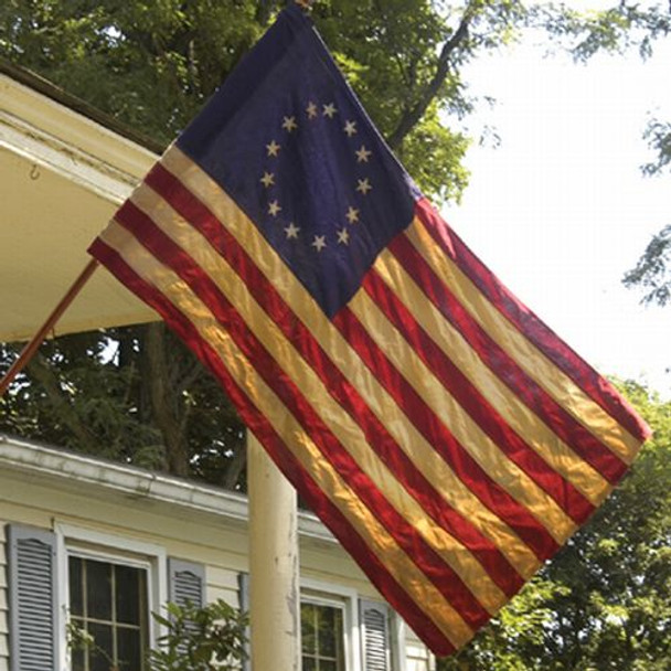 Heritage 2 1/2'x4' Cotton 13-Star Flag
