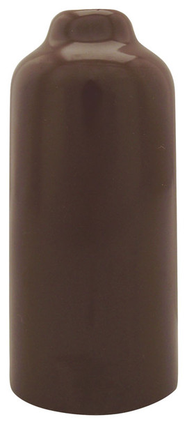 "Brown 4-1/4"" Inch Vinyl Snap Cover"