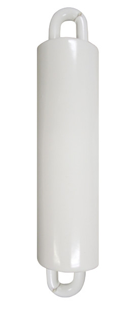 """Flagpole Counterweight 7 LBS White 7"""" Inch (360314-1)"""