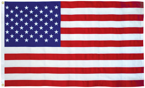American Flag 5x8 Ft 2-Ply Polyester Presidential Series Sewn 5'x8' US Flag