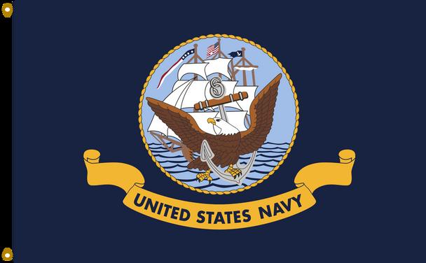 US Navy 2ftx3ft Nylon Flag