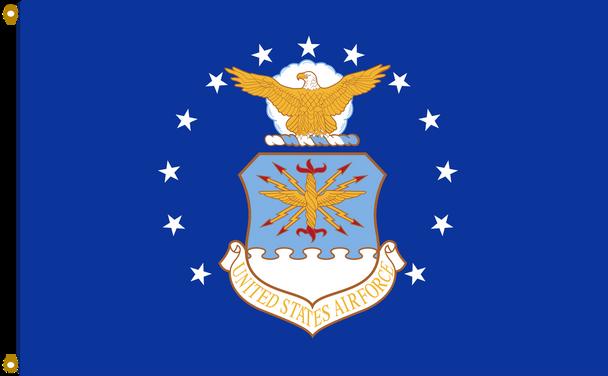 US Air Force 2ftx3ft Nylon Flag