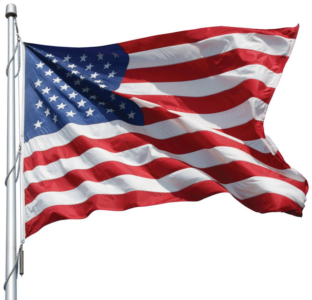 American Flag Made in USA (Polyester, 12x18 Feet)