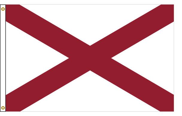 Alabama 6'x10' Nylon State Flag 6ftx10ft