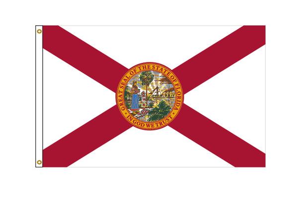 Florida 6'x10' Nylon State Flag 6ftx10ft