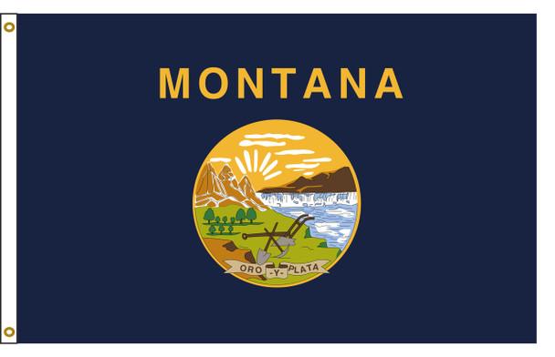 Montana 6'x10' Nylon State Flag 6ftx10ft