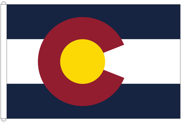 Colorado 8'x12' Nylon State Flag 8ftx12ft