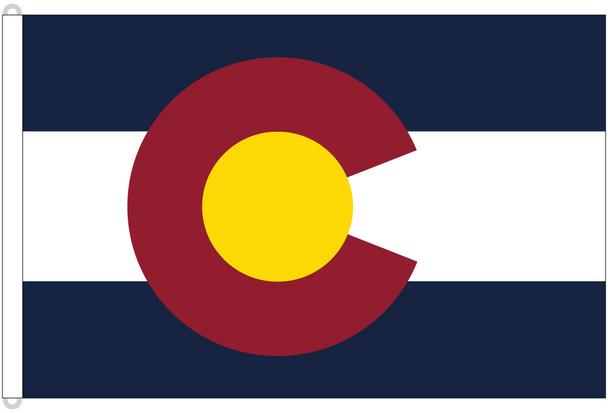 Colorado 8'x12' Nylon State Flag 8ftx12ft