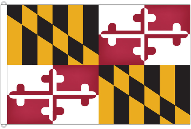 Maryland 8'x12' Nylon State Flag 8ftx12ft