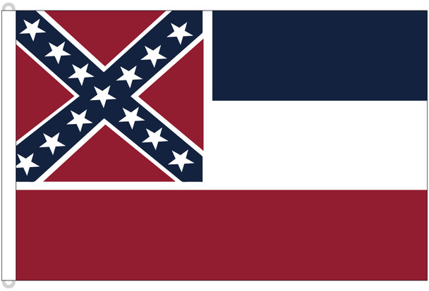 Mississippi 8'x12' Nylon State Flag 8ftx12ft