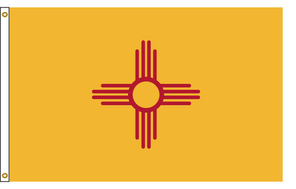 New Mexico 8'x12' Nylon State Flag 8ftx12ft
