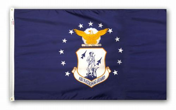 Air National Guard Perma-Nyl 3'x5' Nylon Flag By Valley Forge Flag