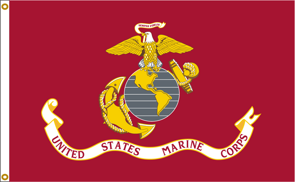 US Marine Corps 4ftx6ft