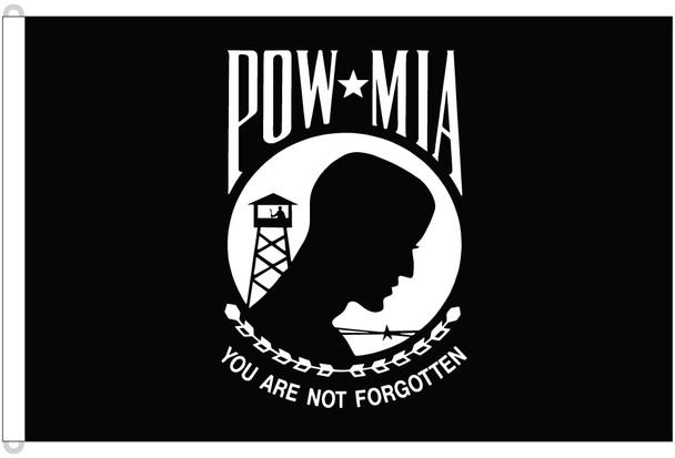 POW MIA Double Sided 8ftx12ft