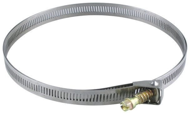 "Stainless Steel Mounting Strap for 16"" Pole Total Strap Length 52"""