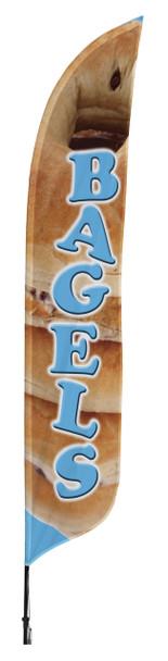 Bagels Blade Flag 2ft x 11ft Nylon