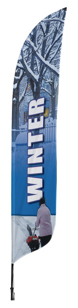Winter Blade Flag 2ft x 11ft Nylon