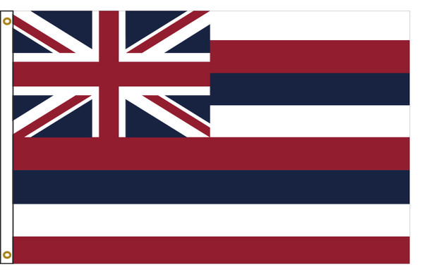 Hawaii 3'x5' Nylon State Flag 3ftx5ft