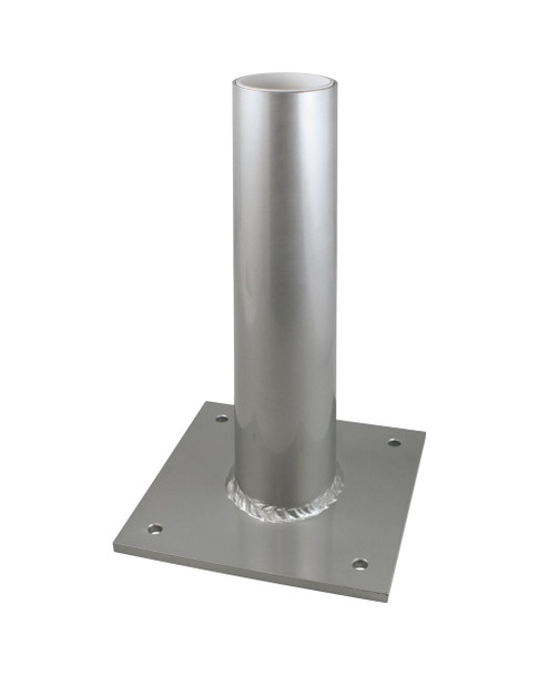 "Flagpole Dock Mount With A Butt Diameter of 2-1/4"" or 2-1/2"""