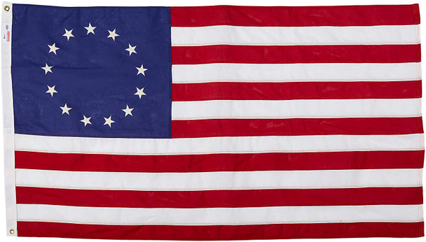 Betsy Ross 3x5 Feet Cotton First Stars And Stripes Flag By Valley Forge Flag 35121580